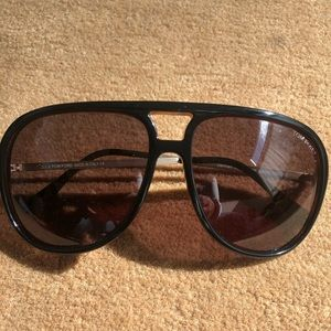 Tom Ford Woman's Aviator Sun Glasses